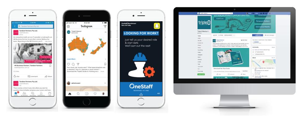 Social Media Design for Recruitment Agencies